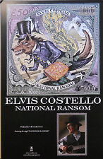 ELVIS COSTELLO, NATIONAL RANSOM POSTER (P2)