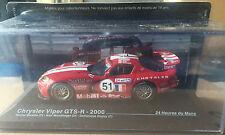 "DIE CAST "" CHRYSLER VIPER GTS-R - 2000 "" 24 HEURES DU MANS SCALA 1/43"