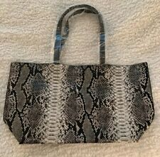 womens Snakeskin tote bags large