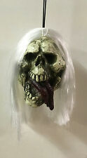 "4"" Shrunken Skull Monster Head Halloween Prop"