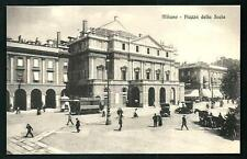 Milano : Piazza della Scala - cartolina non viaggiata anni '20 circa