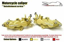 Suzuki GSX1400 K3 K4 03 04 front brake calipers refurbishment service 2003 2004