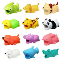 Gift Cartoon Phone Charger Protector Soft Cord Animal Cable Accessory Organizer