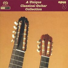 A Unique Classical Guitar Collection - OPUS3 SACD 22062 (Multichannel)
