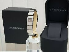 Ladies EMPORIO ARMANI Watch Bangle style bracelet Boxed  RRP £250 (A3