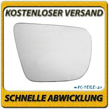 Spiegelglas für SUBARU FORESTER 2003-03/2008 rechts Beifahrerseite konvex