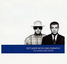 PET Shop Boys: Discography-The Complete Singles Collection/CD-come nuovo