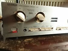 Luxman L410 *** High End Vintage Amplifier***  4 x 75w
