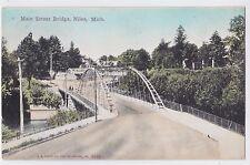 NILES MICHIGAN VIEW OF MAIN STREET BRIDGE