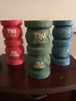 Tiki Caliente Float mugs 3 and portable bar Doug Horne Eekum Bookum