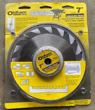 """Oldham 7005012 Adjustable Carbide Dado Blade, 7"""""""