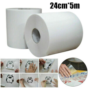 5m/Roll Clear Sign Vinyl Application Tape Sticky Decal Sticker  Transfer Paper