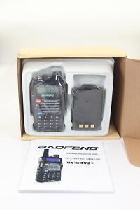 BAOFENG UV-5Rv2+ Two Way Radio Dual Band Dual Display Radio Walkie Talkie U34