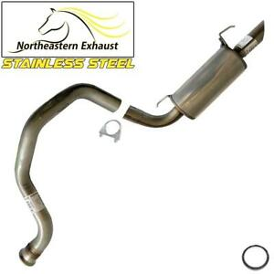 Stainless Steel Rear Muffler Tailpipe fits: 2001-2007 Toyota Sequoia 4.7L