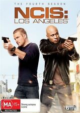 NCIS LA: LOS ANGELES Season 4 : Region 4 DVD - 6 Disc Set - as New