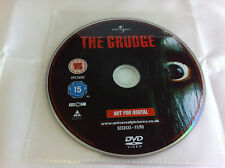 The Grudge DVD R2 Horror Film  2005 - DISC ONLY in Plastic Sleeve