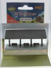 IMEX N Scale 6329 Oyster Bay Station Platform Built Up and Painted Building New!
