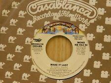 Brooklyn Dreams 45 Make It Last bw Same on Casablanca