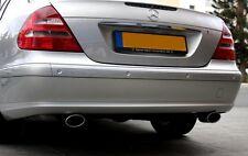 Duplex Auspuffblende Endrohr f. Mercedes Benz W211 W 211 E 270 E 280 E 320 CDI