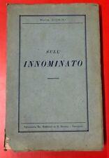 MONS. DONINI - SULL'INNOMINATO - 1936 BONOMI / TREVIGLIO (OB)