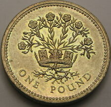 GREAT BRITAIN 1 Pound 1986 - Northern Irish Flax - aUNC - 323 ¤