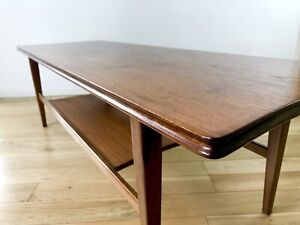 Richard Hornby Teak Coffee Table For Heals Mid Century Lovely Condition