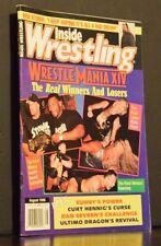 Inside Wrestling Magazine August 1998