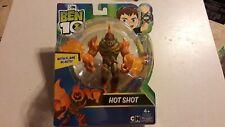 BEN 10 HOT SHOT ACTION FIGURE NOC Cartoon Network