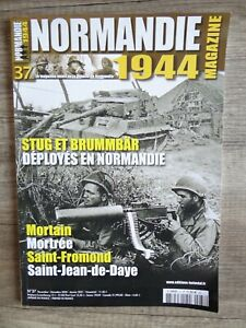 MILITARIA  MAGAZINE NEUF NORMANDIE 1944  N°37 MORTAIN MORTREE ST-FROMONT