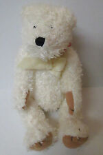 "Bath & Body Works ""Snow"" Plush 10""  Jointed White Teddy Bear Teddybear Christmas"