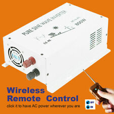 36V to 120V Solar Car Power Inverter 800W Pure Sine Wave Inverter Remote Control