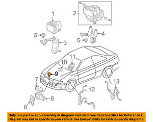 TOYOTA OEM 04-11 Camry-ABS Relay 8826308010