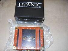 LIMITED EDITION TITANIC MOVIE CARDS STEAMER TRUNK SET LEONARDO DICAPRIO LE