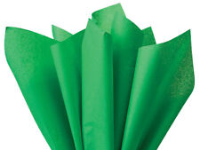"Kelly Green Tissue Paper 20x30"" 480 Sheet Ream Graduations Holiday Weddings poms"