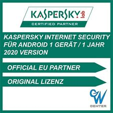Kaspersky Internet Security Android 2020 | 1 Gerät 1 Jahr | Mobile Tablet Handy