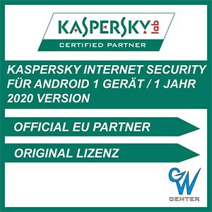 Kaspersky Internet Security Android 2021   1 Gerät 1 Jahr   Mobile Tablet Handy