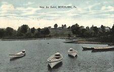 Near The Outlet at Beachlake PA 1909