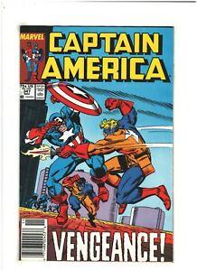 Captain America #347 VF 8.0 Newsstand Marvel Comics 1988