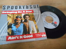 "7"" Pop Spooky & Sue - Swingin On A Star / Ain't It Good (2 Song) ARIOLA"