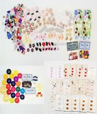 ~VINTAGE~VERY LARGE VARIETY OF BUTTONS~NOS PLUS MORE~