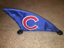 """Chicago Cubs Car Shark Fin (24"""") Suction Cup for the Roof of Your Car or Truck"""