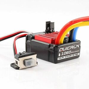 RC Car Hobbywing QuicRun 1060 60A Brushed ESC Electronic Speed Controller