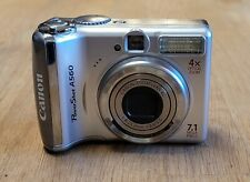 Canon PowerShot A560 7.1MP Digital Camera - TESTED FAST SHIPPING