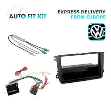 VW Passat Jetta Golf 1 Din Single DIN Fascia Radio Stereo Replacement Kit Fascia