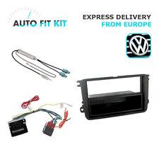 VW Passat Jetta Golf 1 Din Single DIN Fascia Radio Stereo Replacement Kit Fascia