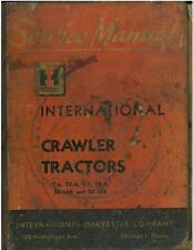 INTERNATIONAL CRAWLER TRACTOR T6 TD6 T9 TD9 TD14A TD18A WORKSHOP SERVICE MANUAL