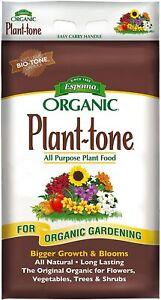 ORGANIC Espoma Plant Tone All Purpose Plant Food 18 lbs