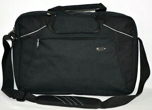 """SOLO Laptop Case Carry On Business Overnight Bag Luggage Briefcase Black 16"""""""