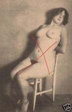 21298/ Foto AK, Erotik, sexy girl, Pin Up Girl, tied, 20ziger Jahre