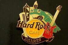 HRC Hard Rock Cafe Jakarta Skyline Logo